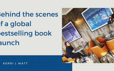 Behind the scenes of a global bestselling book launch